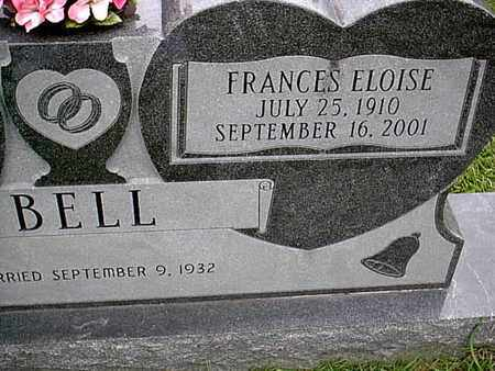 BELL, FRANCES ELOISE (CLOSEUP) - Bowie County, Texas | FRANCES ELOISE (CLOSEUP) BELL - Texas Gravestone Photos