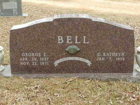 BELL, GEORGE E - Bowie County, Texas   GEORGE E BELL - Texas Gravestone Photos