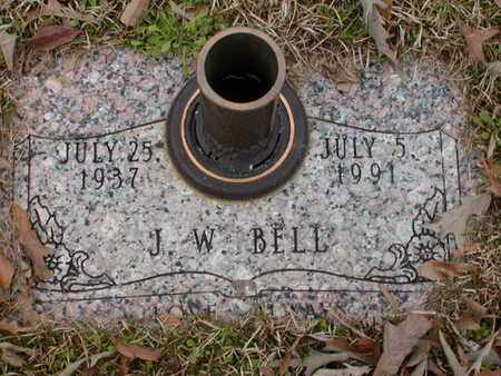 BELL, J W - Bowie County, Texas   J W BELL - Texas Gravestone Photos