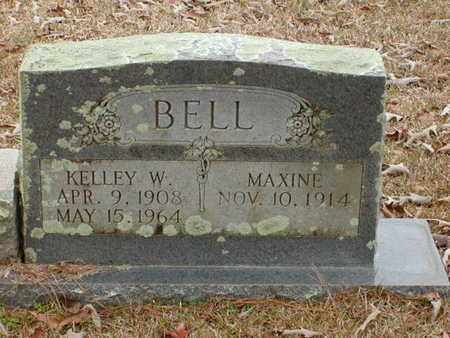 BELL, MAXINE - Bowie County, Texas | MAXINE BELL - Texas Gravestone Photos