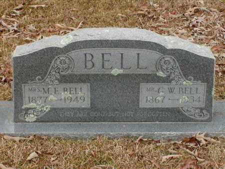 BELL, M E, MRS - Bowie County, Texas | M E, MRS BELL - Texas Gravestone Photos