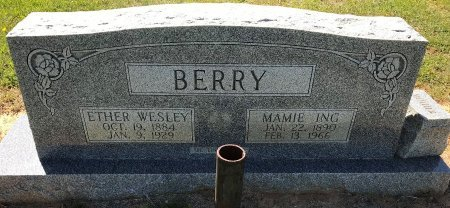 BERRY, ETHER WASLEY - Bowie County, Texas | ETHER WASLEY BERRY - Texas Gravestone Photos