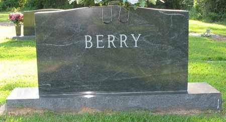 BERRY, FAMILY MARKER - Bowie County, Texas | FAMILY MARKER BERRY - Texas Gravestone Photos