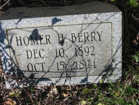 BERRY, HOMER H - Bowie County, Texas   HOMER H BERRY - Texas Gravestone Photos