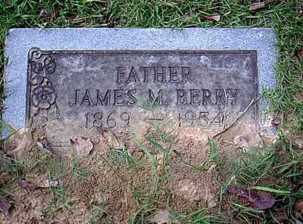 BERRY, JAMES M - Bowie County, Texas | JAMES M BERRY - Texas Gravestone Photos