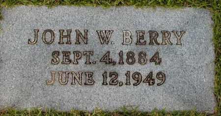 BERRY, JOHN W - Bowie County, Texas   JOHN W BERRY - Texas Gravestone Photos