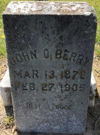 BERRY, JOHN O - Bowie County, Texas   JOHN O BERRY - Texas Gravestone Photos
