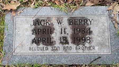 BERRY, JACK W  - Bowie County, Texas   JACK W  BERRY - Texas Gravestone Photos