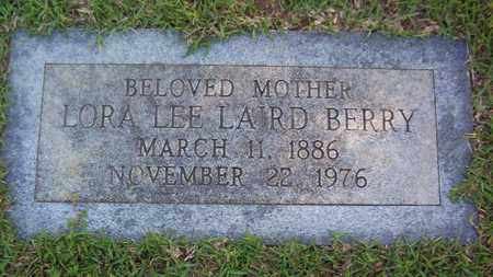 BERRY, LORA LEE (FOOTMARKER) - Bowie County, Texas | LORA LEE (FOOTMARKER) BERRY - Texas Gravestone Photos
