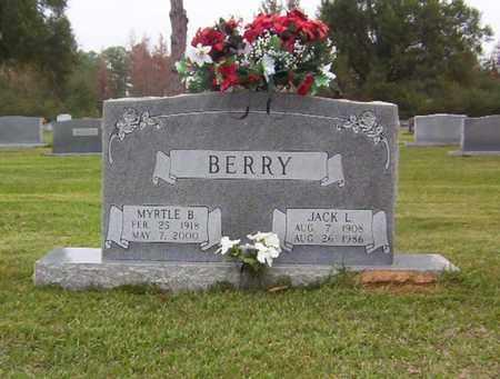 BERRY, MYRTLE B - Bowie County, Texas | MYRTLE B BERRY - Texas Gravestone Photos