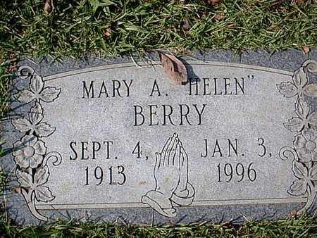 BERRY, MARY A - Bowie County, Texas | MARY A BERRY - Texas Gravestone Photos