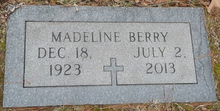 BERRY, MADELINE - Bowie County, Texas | MADELINE BERRY - Texas Gravestone Photos