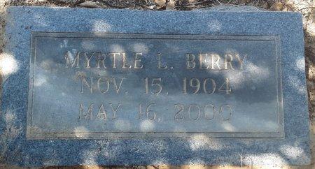 BERRY, MYRTLE L - Bowie County, Texas | MYRTLE L BERRY - Texas Gravestone Photos