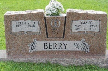 BERRY, OMAJO - Bowie County, Texas | OMAJO BERRY - Texas Gravestone Photos