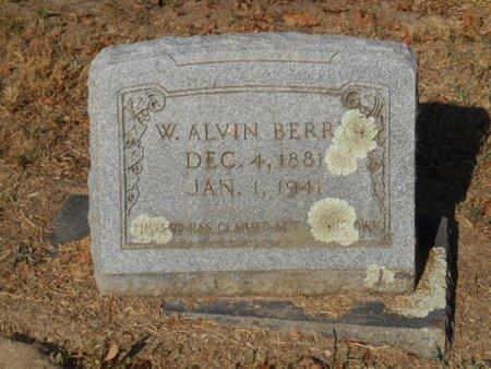 BERRY, W. ALVIN - Bowie County, Texas | W. ALVIN BERRY - Texas Gravestone Photos