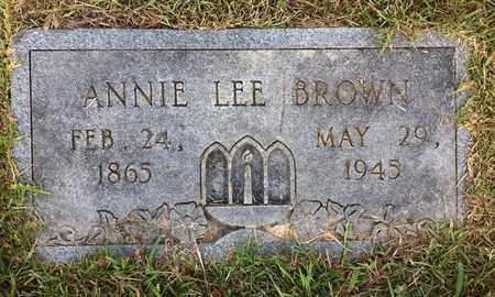 BROWN, ANNIE LEE - Bowie County, Texas   ANNIE LEE BROWN - Texas Gravestone Photos