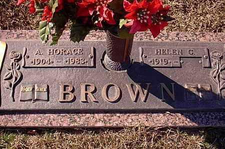 BROWN, A HORACE - Bowie County, Texas | A HORACE BROWN - Texas Gravestone Photos