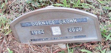 BROWN, BURNICE - Bowie County, Texas   BURNICE BROWN - Texas Gravestone Photos