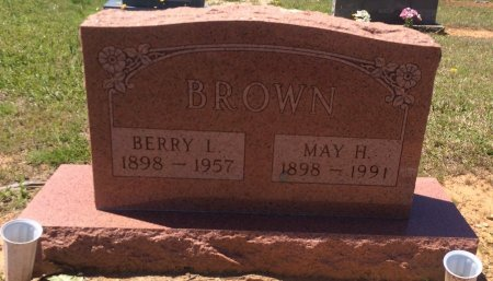 BROWN, MAY - Bowie County, Texas | MAY BROWN - Texas Gravestone Photos