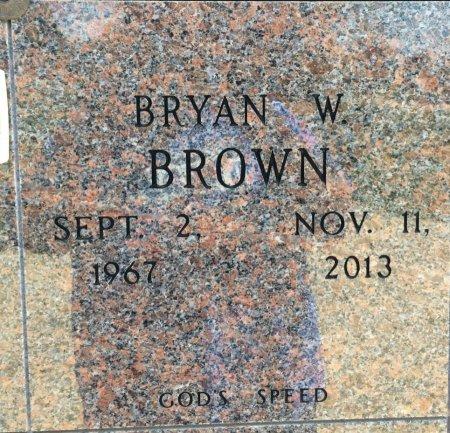 BROWN, BRYAN W - Bowie County, Texas | BRYAN W BROWN - Texas Gravestone Photos