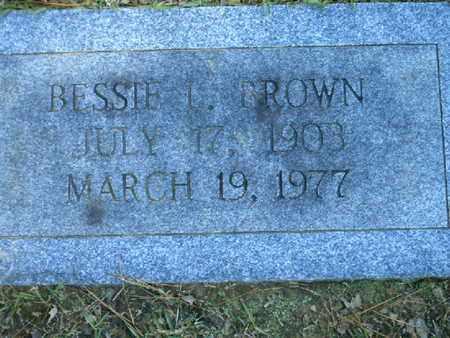 BROWN, BESSIE L - Bowie County, Texas | BESSIE L BROWN - Texas Gravestone Photos