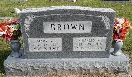 BROWN, CHARLES R - Bowie County, Texas | CHARLES R BROWN - Texas Gravestone Photos