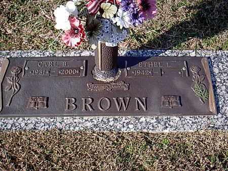 BROWN, CARL B - Bowie County, Texas | CARL B BROWN - Texas Gravestone Photos