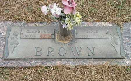 BROWN, CLARENCE - Bowie County, Texas | CLARENCE BROWN - Texas Gravestone Photos