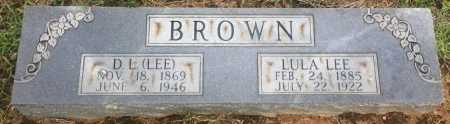 BROWN, D L  - Bowie County, Texas | D L  BROWN - Texas Gravestone Photos