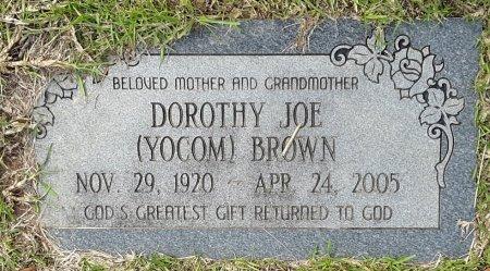 BROWN, DOROTHY JOE - Bowie County, Texas | DOROTHY JOE BROWN - Texas Gravestone Photos