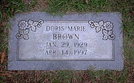 BROWN, DORIS MARIE - Bowie County, Texas   DORIS MARIE BROWN - Texas Gravestone Photos