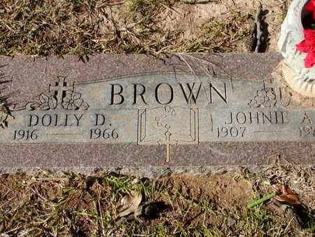 BROWN, DOLLY D - Bowie County, Texas | DOLLY D BROWN - Texas Gravestone Photos