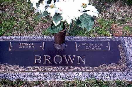 BROWN, DONNA GAIL - Bowie County, Texas | DONNA GAIL BROWN - Texas Gravestone Photos