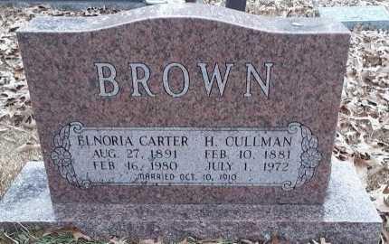 BROWN, ELNORIA (CLOSEUP) - Bowie County, Texas   ELNORIA (CLOSEUP) BROWN - Texas Gravestone Photos