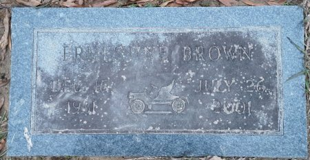 BROWN, ERNESTINE - Bowie County, Texas | ERNESTINE BROWN - Texas Gravestone Photos