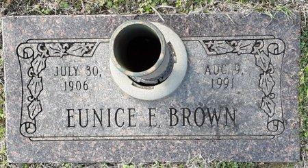 BROWN, EUNICE E - Bowie County, Texas | EUNICE E BROWN - Texas Gravestone Photos