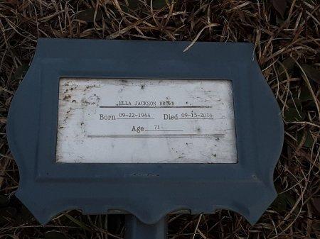 BROWN, ELLA - Bowie County, Texas | ELLA BROWN - Texas Gravestone Photos