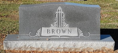 BROWN, FAMILY MARKER - Bowie County, Texas | FAMILY MARKER BROWN - Texas Gravestone Photos