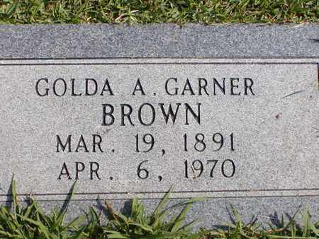 BROWN, GOLDA A - Bowie County, Texas | GOLDA A BROWN - Texas Gravestone Photos