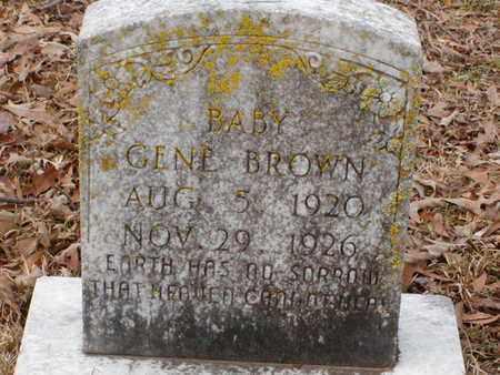 BROWN, GENE - Bowie County, Texas | GENE BROWN - Texas Gravestone Photos