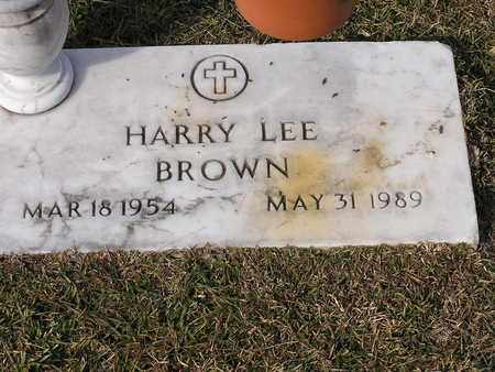 BROWN, HARRY LEE - Bowie County, Texas | HARRY LEE BROWN - Texas Gravestone Photos