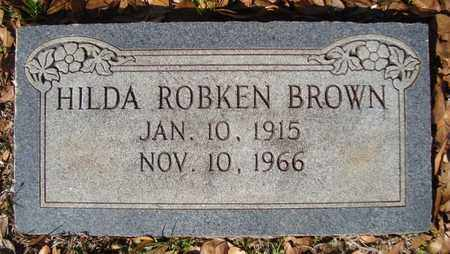 BROWN, HILDA - Bowie County, Texas | HILDA BROWN - Texas Gravestone Photos