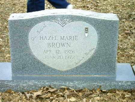 BROWN, HAZEL MARIE - Bowie County, Texas   HAZEL MARIE BROWN - Texas Gravestone Photos
