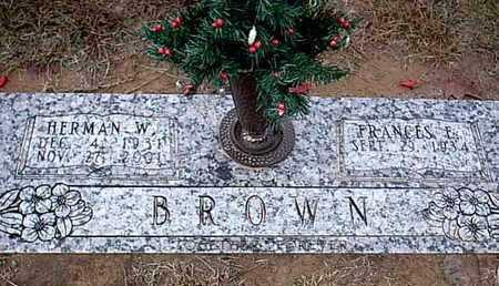 BROWN, HERMAN W - Bowie County, Texas | HERMAN W BROWN - Texas Gravestone Photos