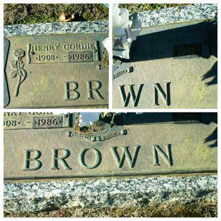 BROWN, ESTHER - Bowie County, Texas | ESTHER BROWN - Texas Gravestone Photos