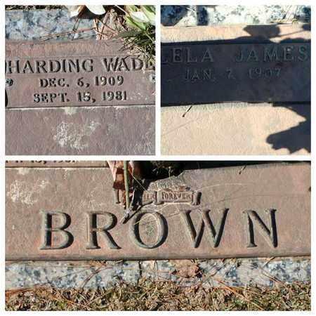 BROWN, HARDING WADE - Bowie County, Texas | HARDING WADE BROWN - Texas Gravestone Photos