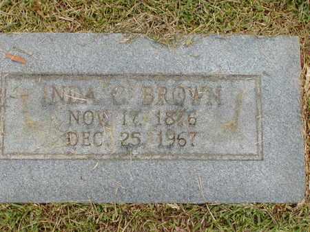BROWN, INDA C - Bowie County, Texas | INDA C BROWN - Texas Gravestone Photos