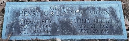 BROWN, LURLEY LETHER - Bowie County, Texas | LURLEY LETHER BROWN - Texas Gravestone Photos