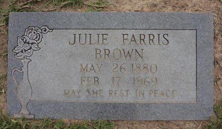 BROWN, JULIE - Bowie County, Texas | JULIE BROWN - Texas Gravestone Photos