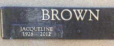 BROWN, JACQUELINE  - Bowie County, Texas | JACQUELINE  BROWN - Texas Gravestone Photos